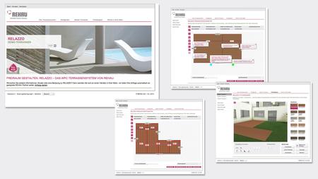 Rehau deck planning projekt14 werbeagentur for Raumdesigner app