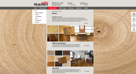 holz roeren krefeld projekt14 werbeagentur. Black Bedroom Furniture Sets. Home Design Ideas