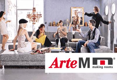arte m Moebel Katalog Agentur