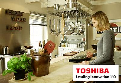 Toshiba Produktpräsentation Interaktiv